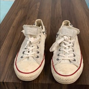 White converse size 10